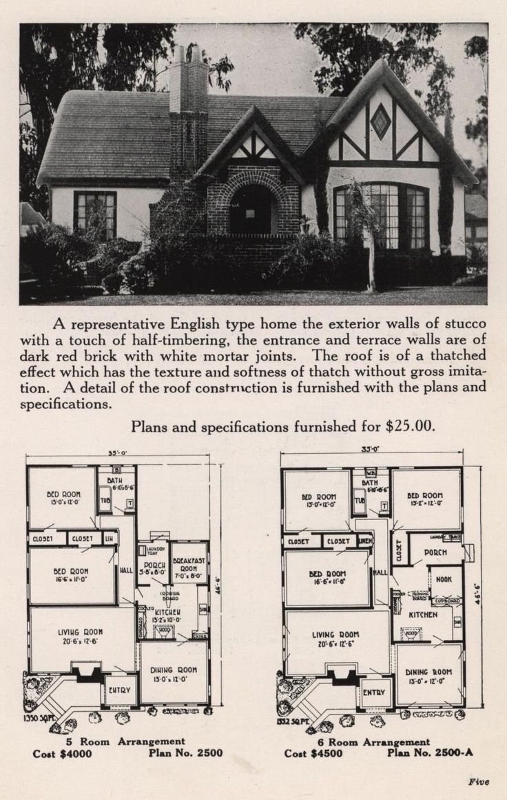 bungalowcraft english and colonial designs bungalowcraft co free download borrow and streaming - Brick English Home Plans