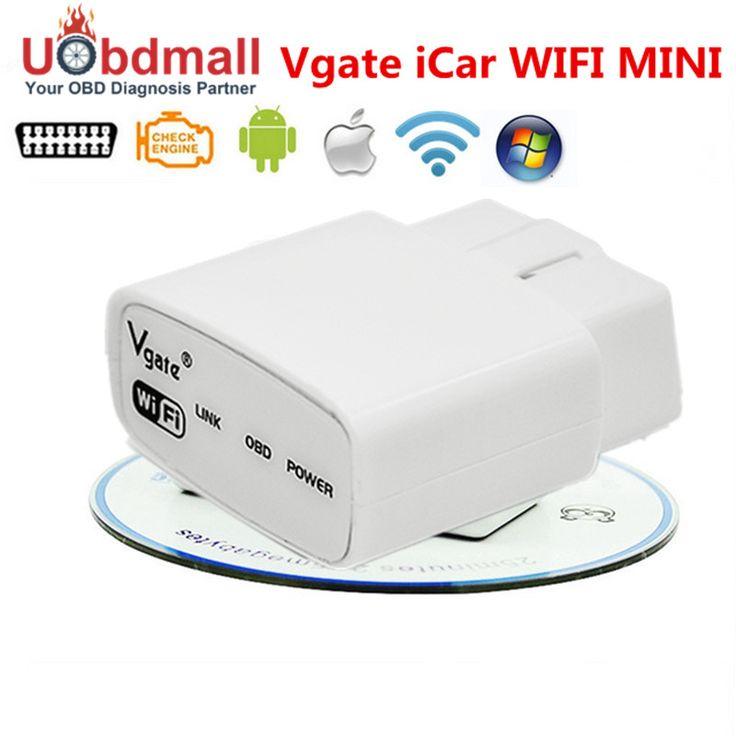 2017 הכי חדש Vgate iCar WIFI ELM327 OBD קוד Reader iCar Elm 327 WIFI סורק רכב OBD WIFI מתאם עבור טלפון אנדרואיד IOS
