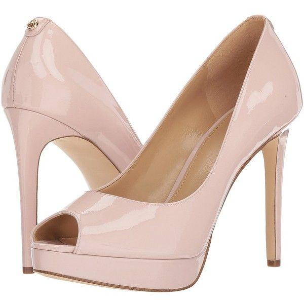 michael kors heels pink