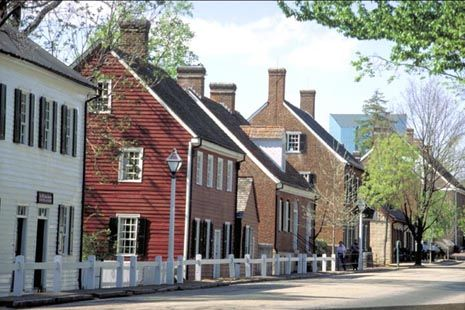 Old Salem, North Carolina. What great memories of strolling the streets with our good friends!
