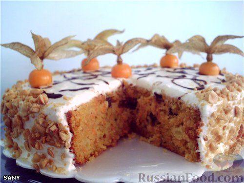 """Изумительный морковный торт - призёр журнала """"Приятного аппетита"""", издательского дома """"Бурда"""""""