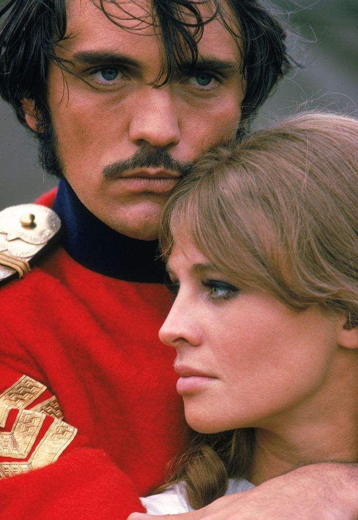 Terence Stamp and Julie Christie in Far From the Madding Crowd, 1967.