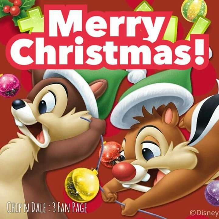 Christmas - Disney - Chip & Dale