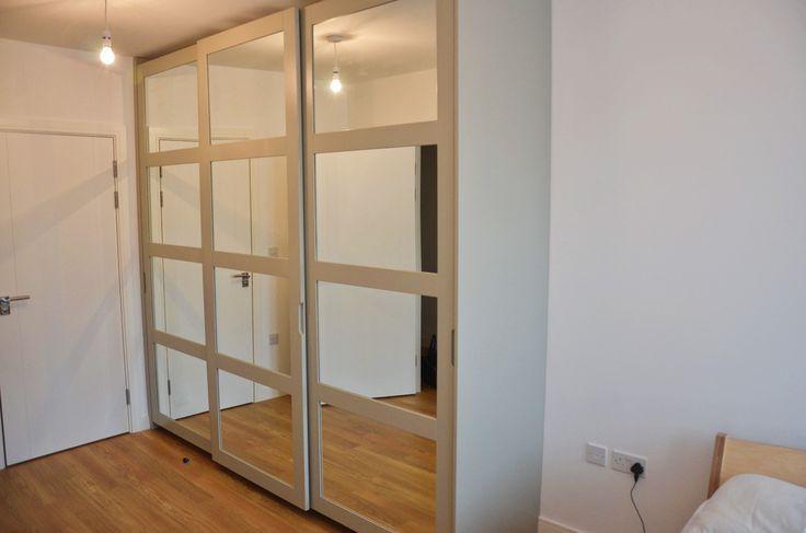 Vetro range of MDF mirrored doors