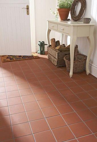 Image result for red tile kitchen floor