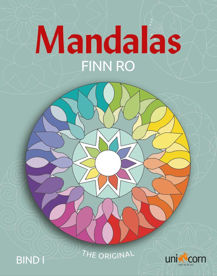 Mandalas Malebok NO Finn ro Bind I