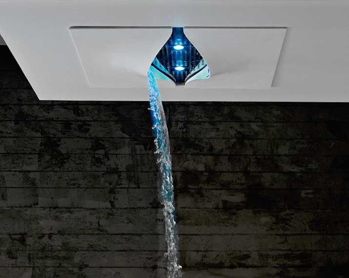 Zazzeri Virgin shower series waterfall shower