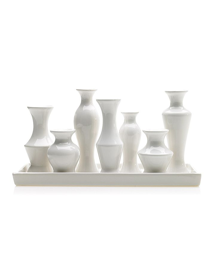 In Stock at Darby Road Home! Chic Seven-Vase Platter