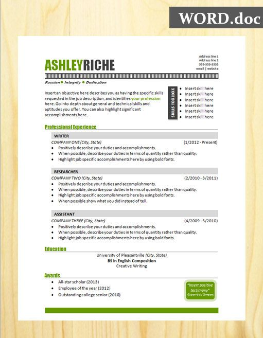 20 best Resume Help for jobs images on Pinterest Boyfriends - accomplishments for a resume