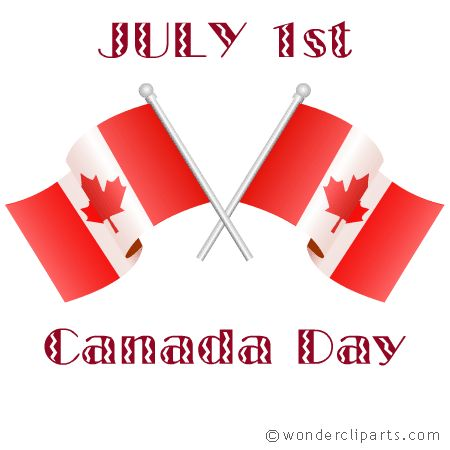 Happy Canada Day to my friends and neighbors up north!