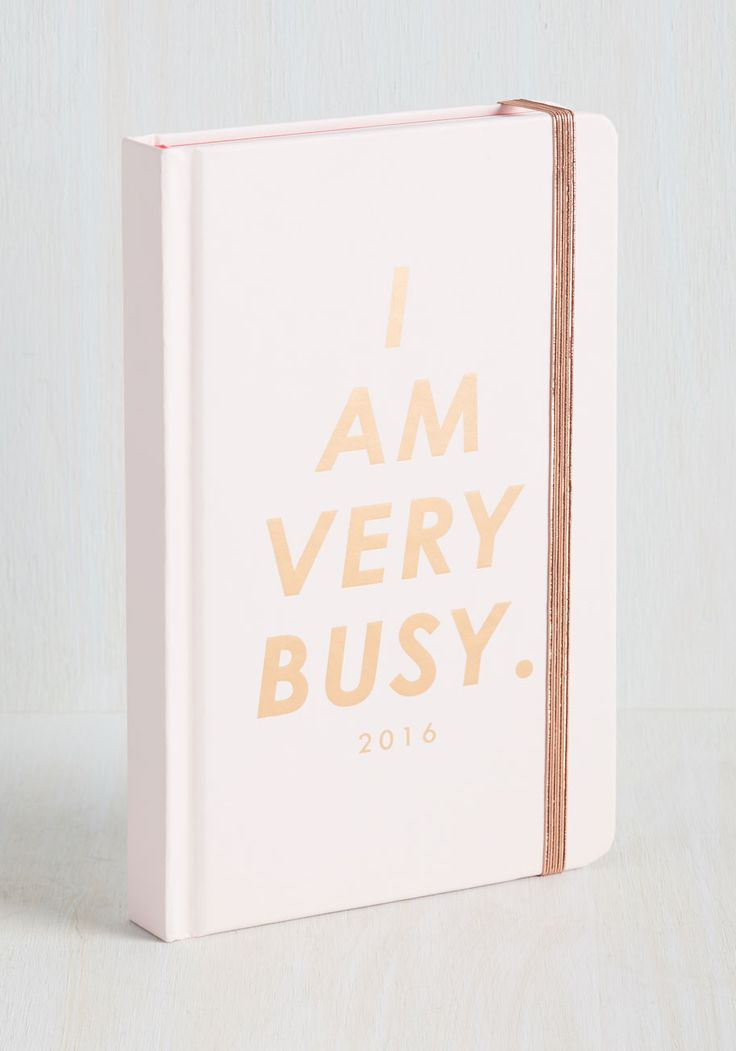 Glam With a Plan 2016 Planner in Petal - Pink, Novelty Print, Print, Quirky, Good, Gifts2015, Gold, Sayings