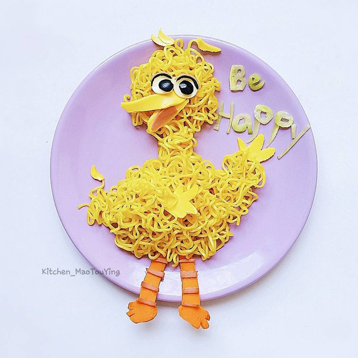 Big Bird by (@kitchen_maotouying)