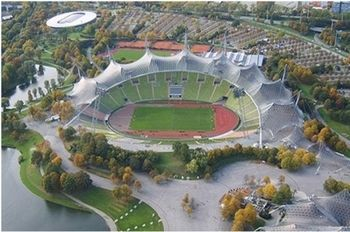 Power-Ranking World Football's 50 Best Stadiums.  Olympiastadion: Munich, Germany   Opened: 1972    Capacity: 69,000+    Tenants: None    The previous home of both FC Bayern Munich and TSV 1860 Munich, the Olympiastadion is one of the most unique in the game and its history is not yet complete in the world of football.