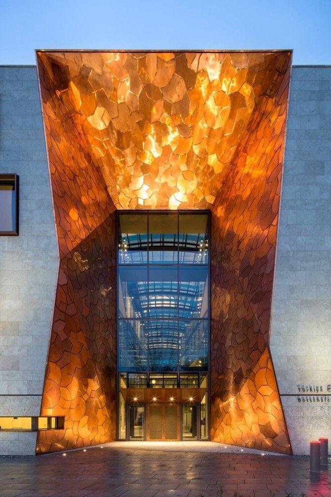 Embajada de Turquía en Berlín / NSH Architekten Embajada de Turquía en Berlín…
