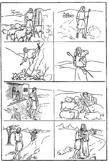 peter denies jesus coloring page - 1000 images about bible nt peter denies jesus on