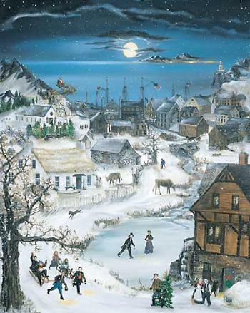 """""""Christmas Cove"""" by Will Moses"""