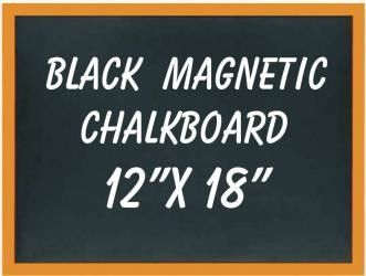 Magnetic Black Wall Mounted Chalkboard