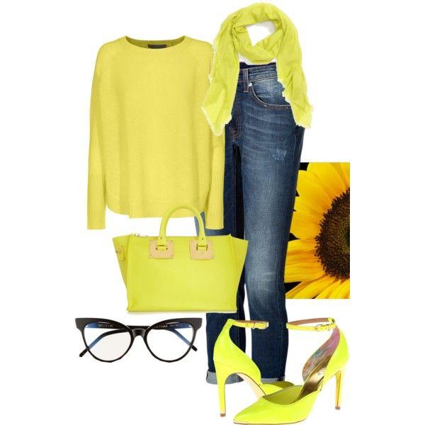 Denim and Yellow