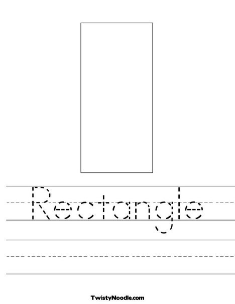 rectangle coloring pages for preschoolers | 17 Best images about Rectangle on Pinterest | Homeschool ...