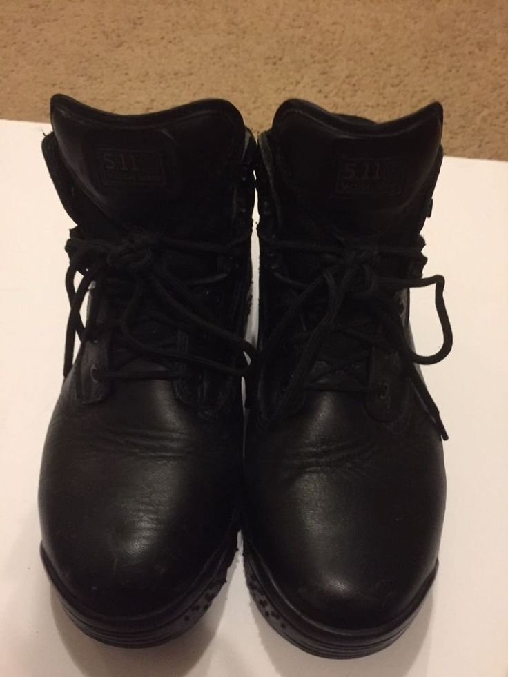 5.11 TACTICAL SERIES MENS BLACK BOOTS SIZE 10.5  #511Tactical #Military
