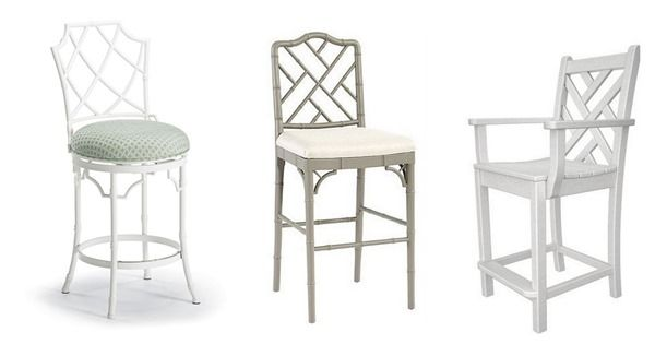 I LOVE this for a kitchen Island | Counter Stool Hunt | Centsational Girl