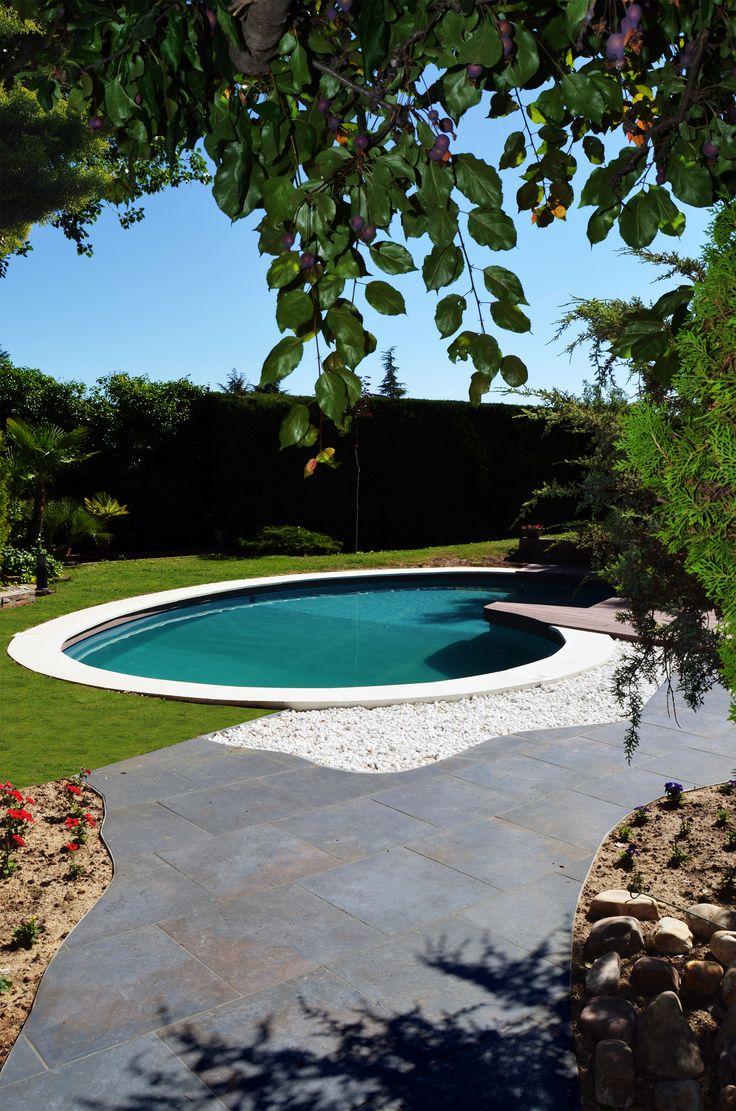 Las 25 mejores ideas sobre piscina con forma de ri n en for Piscinas p 29 villalba