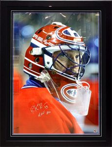 BILLET TIRAGE PHOTO ENCADREE ET SIGNEE DE PATRICK ROY #33 (32X43) PICTURE FRAMED AND SIGNED PATRICK ROY #33 (32X43) SWEEPSTAKES TICKET SPORTS