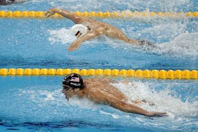 Olympic Swimmers & Healthy Eating