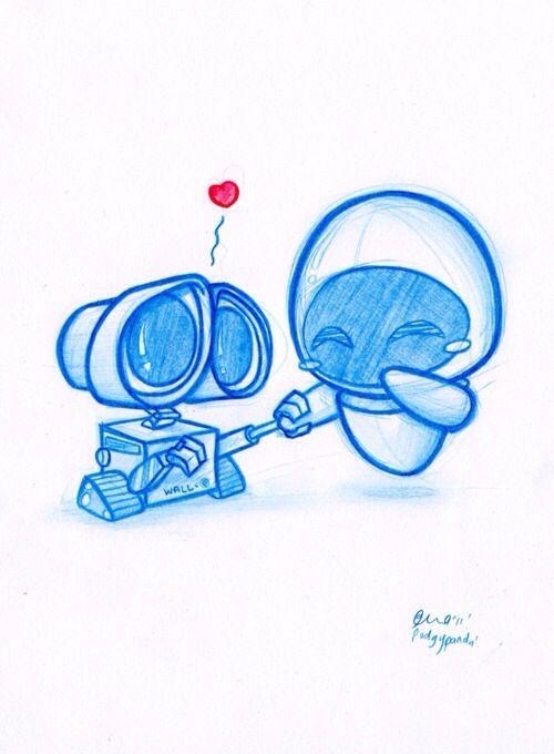 Wall-e and eve!