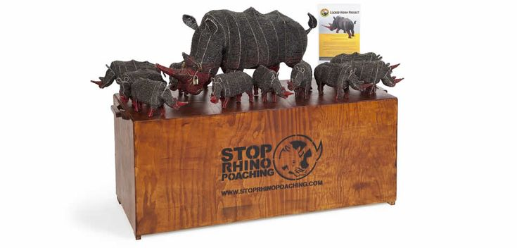 Our retail display stand for the Locked Horn Project.