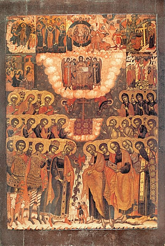 Past Exhibitions | Transcendent Art: Icons from Yaroslavl, Russia : Hexameron