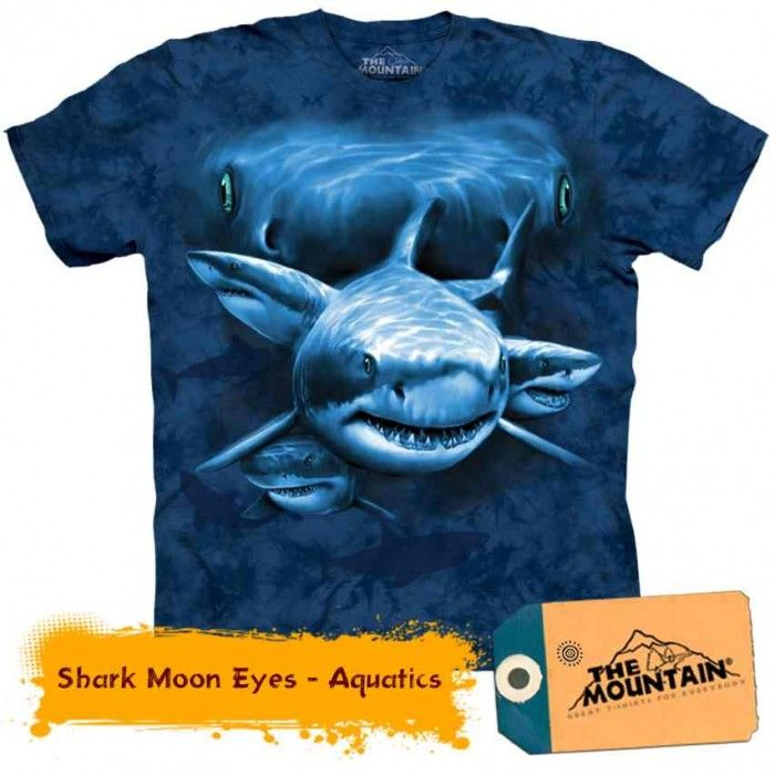 Tricouri The Mountain – Tricou Shark Moon Eyes