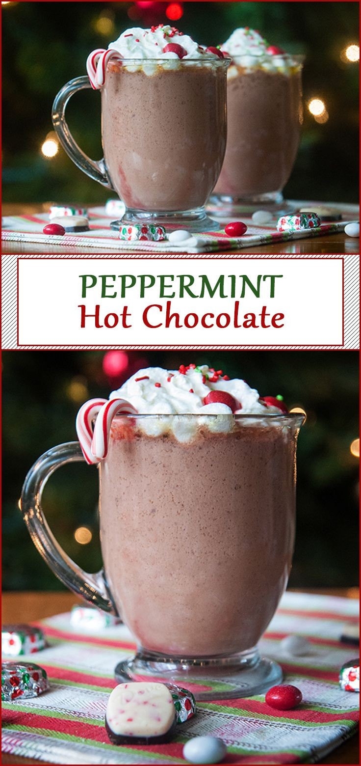 Easy Slow Cooker Peppermint Hot Chocolate from www.SeasonedSprinkles ...