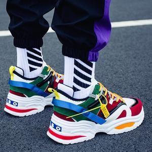 Colour X9x Chunky Wave Runner Sneakers Multi Yb67gyfv