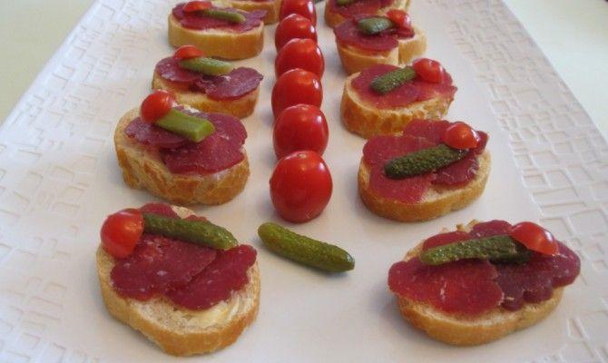Toast de saucisson aux cornichons : Diet & Délices - Recettes dietétiques