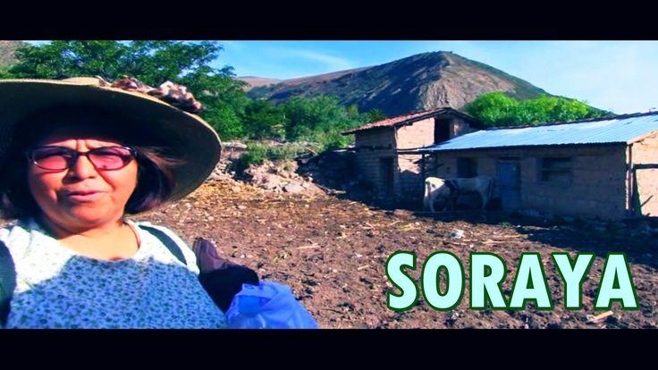 Odilia y Obdulia visitan el pueblo de Soraya,en Aymaraes, Apurímac, Sierra de Perú.,