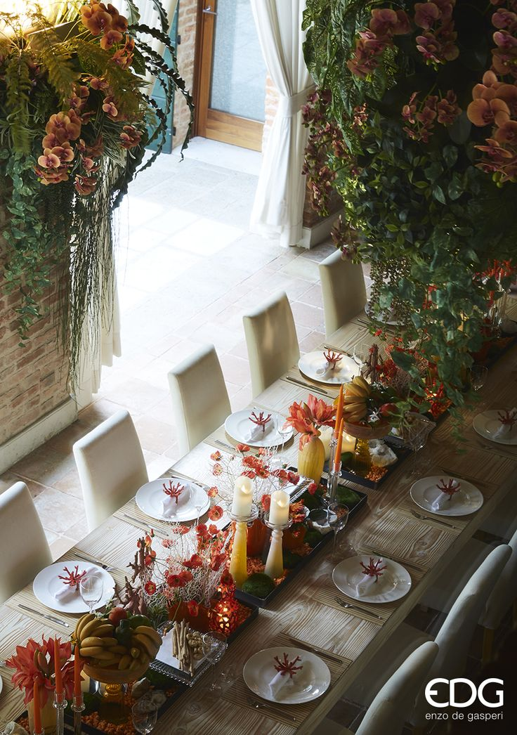 Summer Table - Tropical Style EDG Enzo De Gasperi