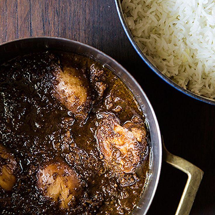 Iranian/Persian Fesenjoon (walnut and pomegranate dish) with Rice Recipe on Food52 recipe on Food52