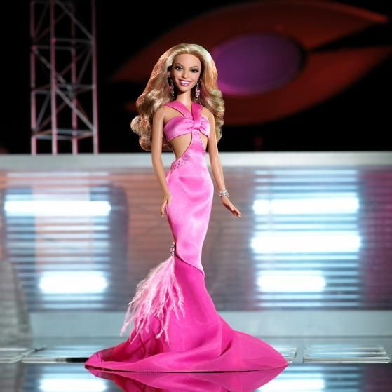 The Beyonce Barbie, released in 2005.
