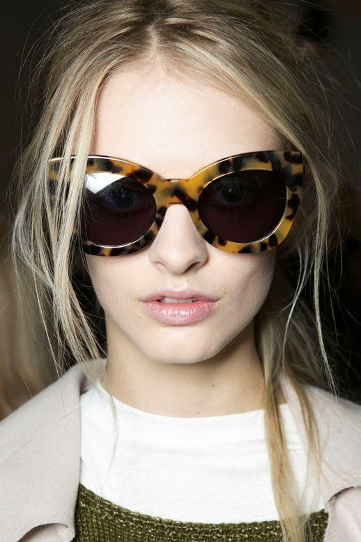 Cat-eye de oncinha é muito amor! #sunnies #sunglasses #óculosdesol