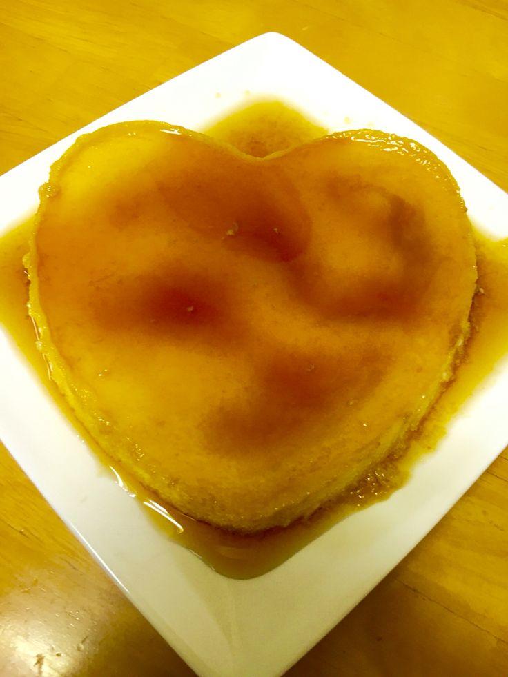 "Custard dessert topped w/ soft caramel ( Flan de leche) "" a Heartful New year to everyone!.."