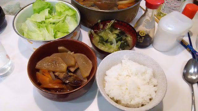 ホラー漫画家・神田森莉 ハムブログ: 郷土料理のようなものを食う。身欠きニシンと大根の煮付け。