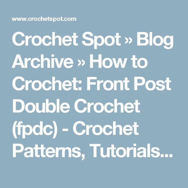 Crochet Stitch Exsc : ... crochet, Beginner crochet patterns and Crochet stitches for beginners