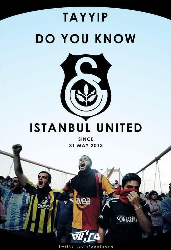 Els seguidors del Fenerbahçe, el Beşiktaş i el Galatasaray, units contra Tayyip
