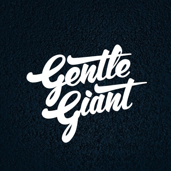 Gentle Giant (a tribute to my favorite band) by Francesco Paura Curci #typography