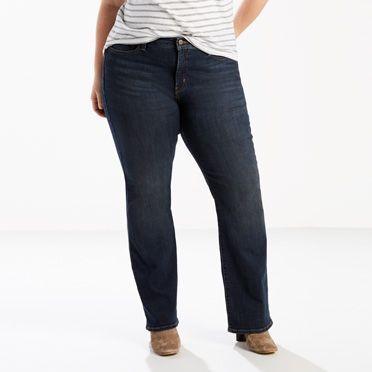 Levi's 415 Classic Boot Cut Jeans (Plus) - Women's 16S