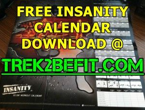 Insanity Workout Calendar to use with the Insanity workout videos I found
