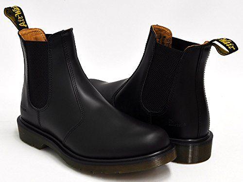 (ドクターマーチン) Dr.Martens CHELSEA BOOT #2976 チェルシー ブーツ サイドゴア BLACK SMOOTH 11853001 23.0(4)UK [並行輸入品]