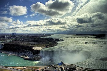 Getting from New York City to Niagara Falls