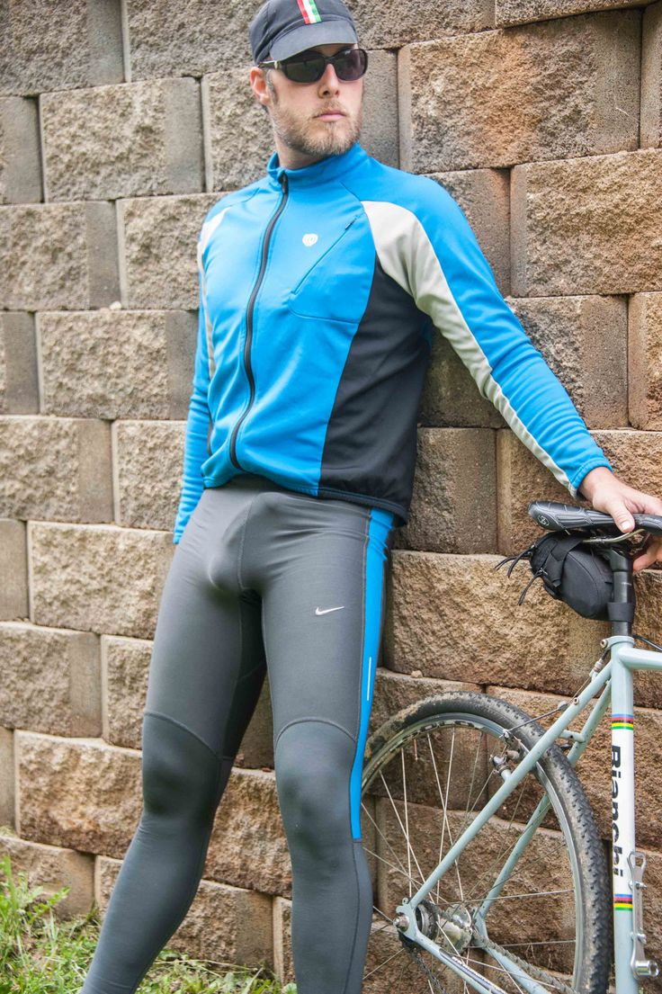 Agree Cyclist big bulge in lycra